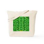 Royal Hawaiian Palms Print Tote Bag