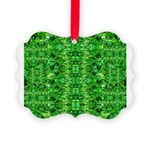 Royal Hawaiian Palms Print Picture Ornament