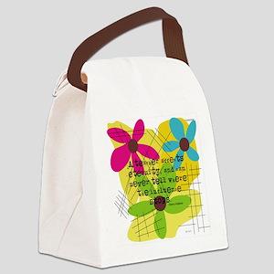 A teacher affects eternity PILLOW Canvas Lunch Bag