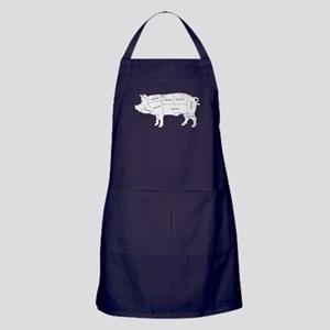 Bacon Pig Apron (dark)