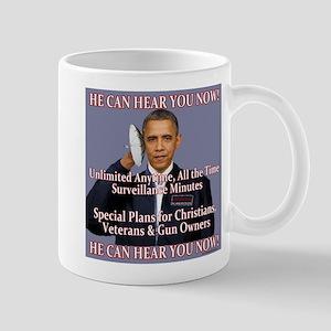 He Can Hear You Now Mug