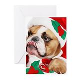Bulldog Greeting Cards (20 Pack)