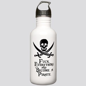 Become a pirate Water Bottle