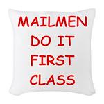 MAIL Woven Throw Pillow