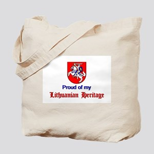 Official Lithuanian Crest Tote Bag