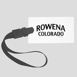 Rowena Colorado Luggage Tag