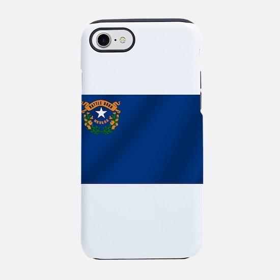 Flag of Nevada iPhone 7 Tough Case