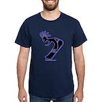Kokopelli Snowboarder Dark T-Shirt