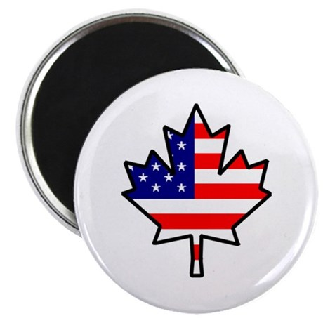 American-Canadian Half-Breed Magnet