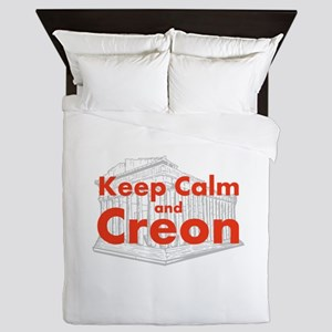 Keep Calm and Creon Queen Duvet