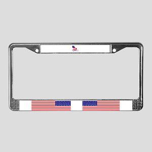 Freedom eagle License Plate Frame