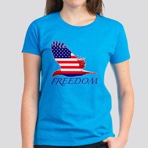 Freedom eagle Women's Dark T-Shirt