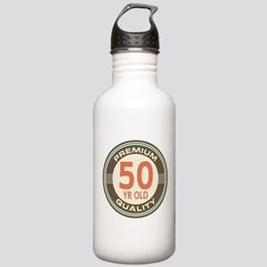 50th Birthday Vintage Stainless Water Bottle 1.0L
