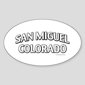 San Miguel Colorado Sticker