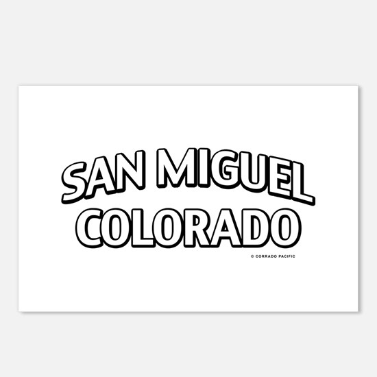 San Miguel Colorado Postcards (Package of 8)
