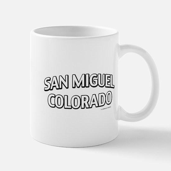 San Miguel Colorado Mug