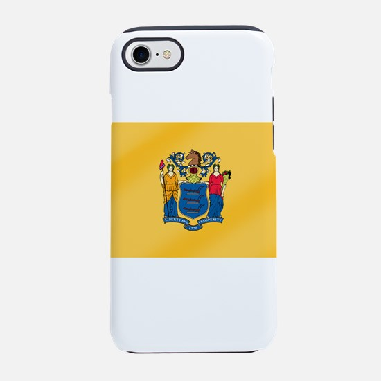 New Jersey State Flag iPhone 7 Tough Case
