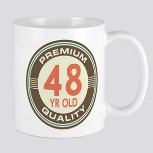 48th Birthday Vintage Mug