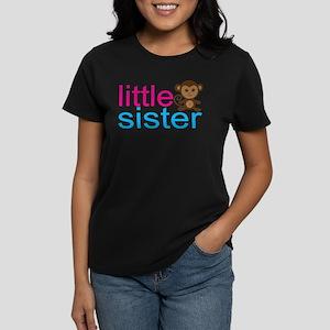 Monkey Little Sister Women's Dark T-Shirt