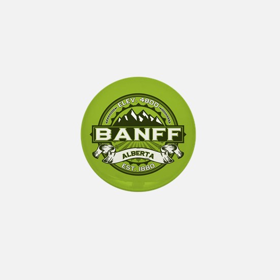 Banff Green Mini Button