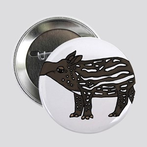 "Funny Tapir 2.25"" Button"
