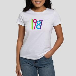 1987 Nineteen Eighty Seven Women's T-Shirt