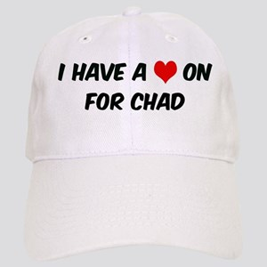 Heart on for Chad Cap