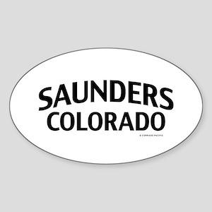 Saunders Colorado Sticker