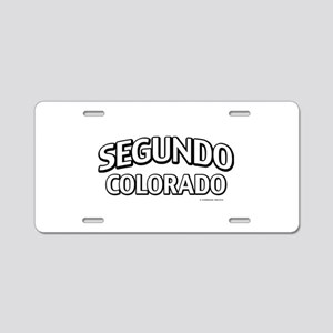 Segundo Colorado Aluminum License Plate