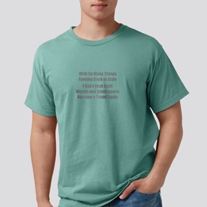Morals and Intelligence Mens Comfort Colors Shirt