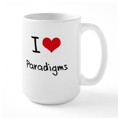 I Love Paradigms Mug
