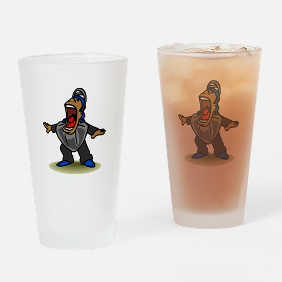 Umpire big mouth Safe Drinking Glass