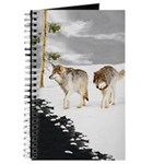 Wolves in Snow Journal