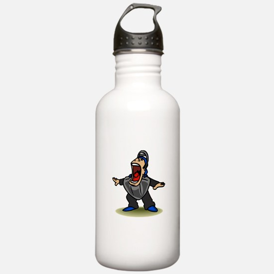 Safe big mouth Umpire Water Bottle