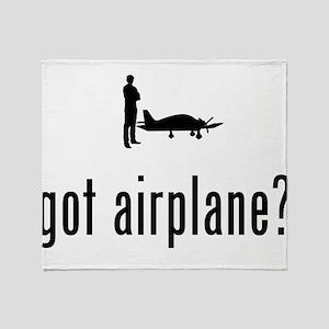 Pilot Throw Blanket