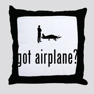 Pilot Throw Pillow