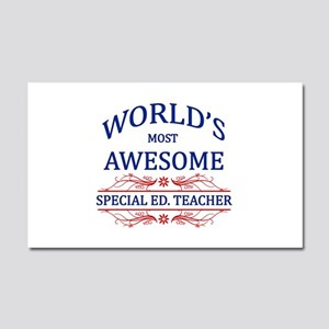 World's Most Awesome Special Ed. Teacher Car Magne