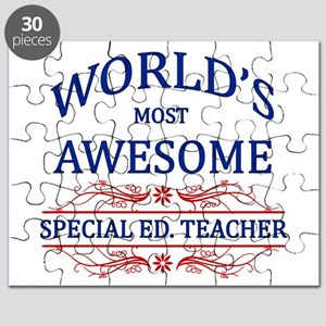 World's Most Awesome Special Ed. Teacher Puzzle