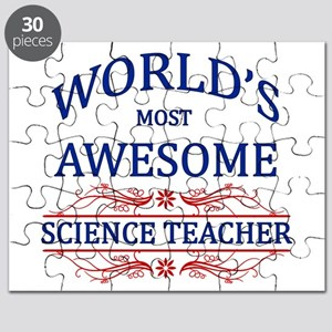 World's Most Awesome Science Teacher Puzzle