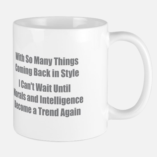 Morals and Intelligence Mugs