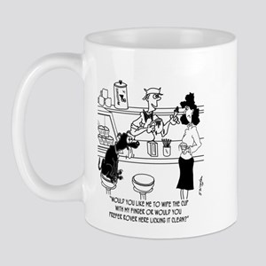 Dog Barista Mug