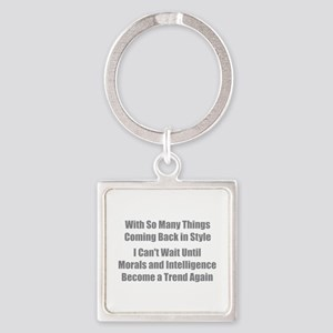 Morals and Intelligence Keychains