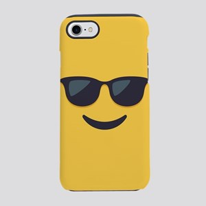 Sunglasses Emoji Face iPhone 7 Tough Case