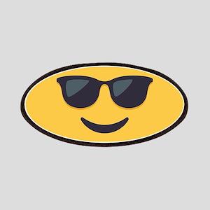 Sunglasses Emoji Face Patch