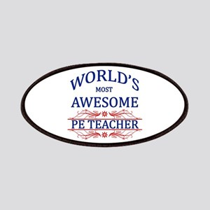 World's Most Awesome PE Teacher Patches