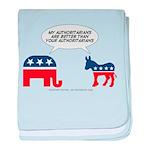 Authoritarians baby blanket