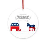 Authoritarians Ornament (Round)