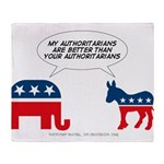 Authoritarians Throw Blanket