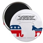 """Authoritarians 2.25"""" Magnet (10 pack)"""