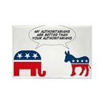 Authoritarians Rectangle Magnet (100 pack)